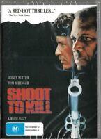 Shoot to Kill ( Sidney Poitier & Tom Berenger )  - New Region All DVD