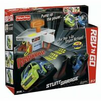 Fisher Price Rev N Go Stunt Garage w/2 cars. Brand New in Box