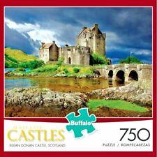 NEW Buffalo Majestic Castles 750 Piece Jigsaw Puzzle Eilean Donan Scotland