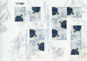 Belgium Medical Stamps 2020 MNH The Silence of Alzheimer Mental Health 10v M/S