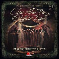 EDGAR ALLAN POE-DIE GEHEIMNISVOLLEN FÄLLE  IM KREISE DER ROTEN KUTTEN-F CD NEW