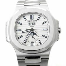 Patek Philippe Nautilus Steel Annual Calendar Watch Box & Papers 5726/1A