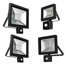 LED Compact Outdoor Energy Saving Outside Security Flood Light PIR Motion Sensor