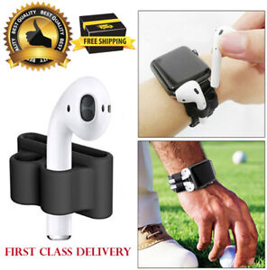 Silicone Case Cover Strap Holder For Apple Air AirPods Bluetooth Earphone AirPod