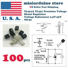 100Pcs TL431ACL TL431 Precision Shunt Regulator To-92 High quality