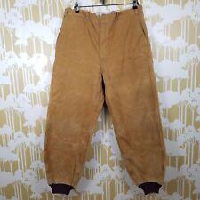 Rare Vintage Hinson Bodyguard Duck Canvas Pants 30's 40's 50's Men's 38 Outdoor
