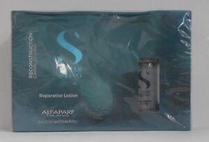ALFAPARF RECONSTRUCTION Semi Dilino Reparative Lotion ~ BOX of 6 x 13 mL Vials!!