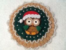 (51) Owl decorations, ornaments, christmas decorations,