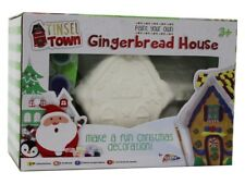 Paint Your Own Gingerbread House Childrens Christmas Craft Gift Decoration 0214