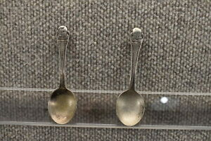 VTG Gerber Withrop Silver Plated Spoons (2)