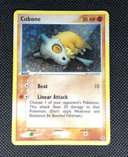 EXCELLENT ! - POKEMON EX FIRE RED & LEAF GREEN HOLO CARD - #60/112 - CUBONE