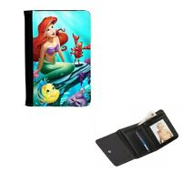 Princess Ariel Personalised, Mens, Ladies Girls Purse, Wallet 12cm x 9cm