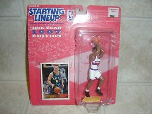 Starting Lineup 1997 Jason Kidd by Kenner Action Figure Sealed Box New Collector