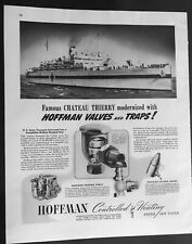 U.S. Army Transport Ship Converted to Hospital Ship WWII Ad