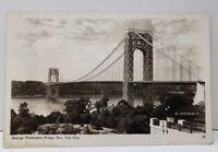 George Washington Bridge, New York City RPPC Postcard C12