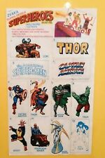 Superheroes Marvel sticker album bubble gum 1991 RARE