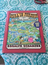 Ezra In Pursuit~the Great Maze Chase~ 1993 Maze Book~hardcover