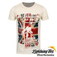 Official Sex Pistols 100 Club Punk Rock Band T-Shirt