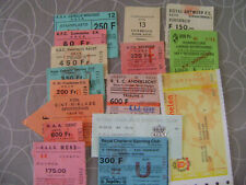 16 NATIONALE TICKETS