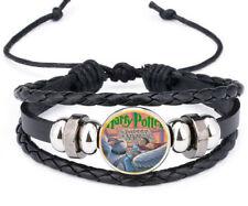 Charm Noosa Snap Glass Leather Bracelet Harry Potter and the Prisoner of Azkaban