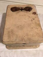 ANTIQUE oak ringer box no. 236D on back