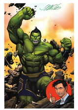 Frank Cho SIGNED Marvel Comic Super Hero Art Print The Totally Awesome Hulk #1