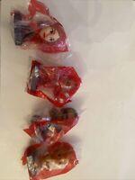 New Mcdonald's Happy Meal Toys. Marvel Avengers Wanda, Hulk Buster, Falcon Groot