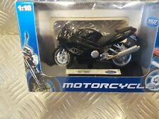 NEW WELLY DIECAST MZ1000S 1:18 MODEL MOTORCYCLE