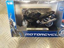NUEVO Welly De Metal MZ1000S 1:18 Modelo MOTO