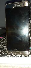 Smartphone Samsung Galaxy S7 Edge SM-G935-32 Go - Or Platine ecran casse