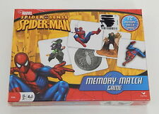 MARVEL Spider Sense Spiderman Memory Match Game SEALED R8641