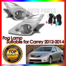 Fog Lights Lamps Complete Kit To suit Toyota Camry 2012-2014 WITH FREE BULB