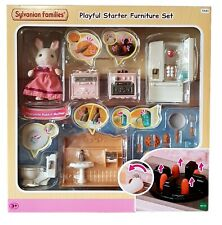 Sylvanian Families Playful Starter Furniture Set & Chocolate Rabbit 5449