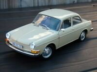 Rare 1/18 VOLKSWAGEN 1600 L 1970 Minichamps Detailed Vintage Toy Oldtimer Car