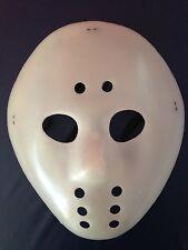 Jason-Maske - Kunststoff beige-weiß