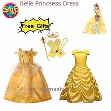 Mädchen Kinder Prinzessin Kleid Weihnachten Partykleid Cosplay Kostüm Party Elsa
