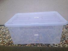 Aufbewahrungsbox mit Deckel NCC12 Stapelkiste 30x20x16,5cm Kristallbox 6L