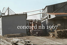 "Boston & Maine RR  802  Concord Lumber Co.  Concord NH 1967 4x6"" photo"