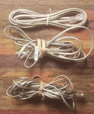 3 Straight Wired Modular Telephone Cables