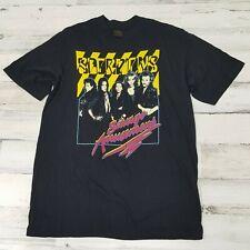 VERY RARE !! Vintage 1988 Scorpions Savage Amusement Tour T-Shirt - Black XL