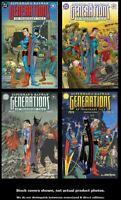 Superman & Batman: Generations 1 2 3 4 DC 1998 Complete Set Run Lot 1-4 VF/NM