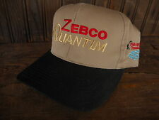 Hooked on Fishing ZEBCO Quantum  Snapback Cap Trucker Hat Rod & Reel