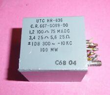 Transformer Collins Trasformatore UTC HR 636