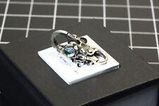 Vintage Rare Trollbeads Dichroic Sterling Silver Flower Lock .925s Charm