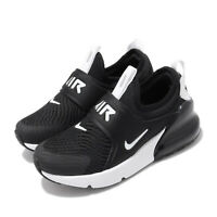 Nike Air Max 270 Extreme PS Black White Preschool Kids Casual Shoes CI1107-001