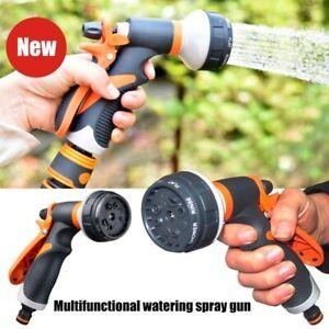 Gartenbrause Wasserspritze Handbrause Sprühpistole  Bewässern Sprühfunktionen