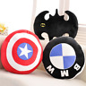 BMW Pillow Cushion Home Decor 40cm Batman Captain America Soft Comfy New Round