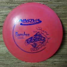 Innova Dx Banshee Pfn 168g Patent # Red Blue Foil Stamp Disc Golf Driver