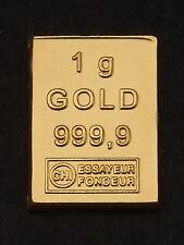 1 Gramm Goldbarren ESG 1g 999,9 Feingold Gold Barren