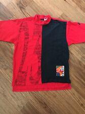 Vintage 90s Nike T shirt Michael AIR Jordan Black Tag M Colorblock #23 Jumpman